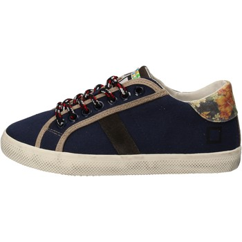 Skor Flickor Sneakers Date Sneakers AD862 Blå