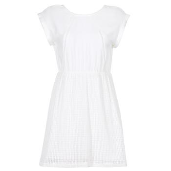 textil Dam Korta klänningar Moony Mood INDI Vit
