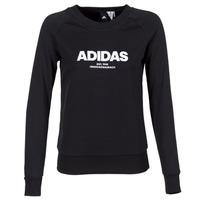 textil Dam Sweatshirts adidas Performance ESS ALLCAP SWT Svart