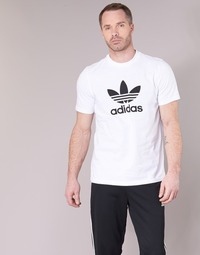 textil Herr T-shirts adidas Originals TREFOIL T-SHIRT Vit