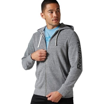 textil Herr Sweatshirts Reebok Sport Big Logo French Terry Gråa