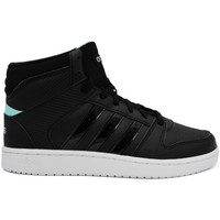 Skor Dam Höga sneakers adidas Originals VS Hoopster Mid Svarta