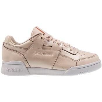 Skor Dam Sneakers Reebok Sport W LO Plus Iridescent Vit, Beige, Krämiga