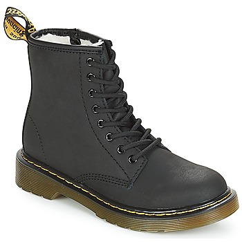 Skor Flickor Boots Dr Martens SERENA JUNIOR Svart