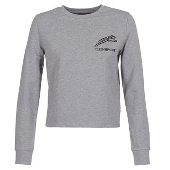 textil Dam Sweatshirts Philipp Plein Sport ROUND AIR SQUAT Grå