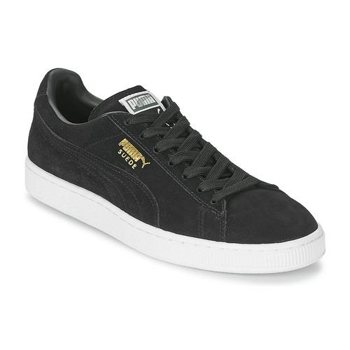 Skor Sneakers Puma SUEDE CLASSIC Svart