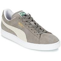 Skor Sneakers Puma SUEDE CLASSIC Grå