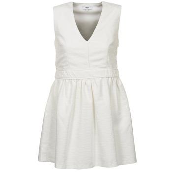 textil Dam Korta klänningar Suncoo CAGLIARI Vit