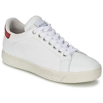 Skor Dam Sneakers Meline AIMEE Vit / Röd