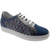 Skor Dam Sneakers Calzaturificio Loren LOC3787bl blu