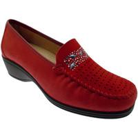 Skor Dam Loafers Calzaturificio Loren LOK3988ro rosso