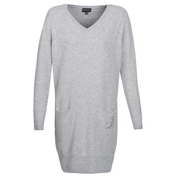 textil Dam Korta klänningar Emporio Armani CROWA Grå