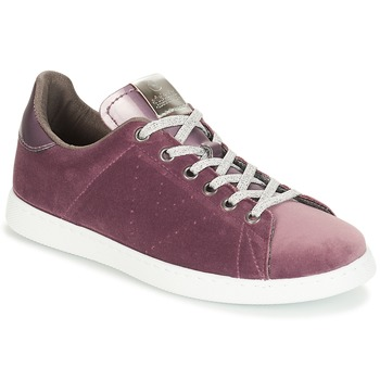 Skor Dam Sneakers Victoria DEPORTIVO TERCIOPELO Violett