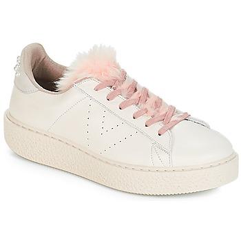 Skor Dam Sneakers Victoria DEPORTIVO PIEL PERLAS Beige