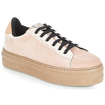 Skor Dam Sneakers Victoria DEPORTIVO TERCIOPELO/CARAM Beige