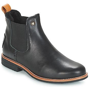 Skor Dam Boots Panama Jack GIORDANA Svart