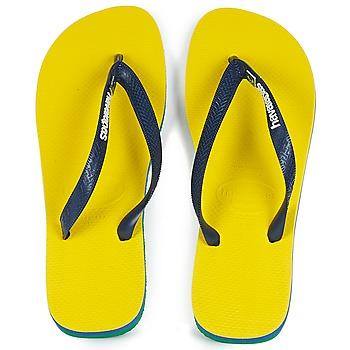 Skor Flip-flops Havaianas BRASIL LAYERS Gul