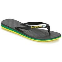 Skor Herr Flip-flops Havaianas Brasil Layers Svart