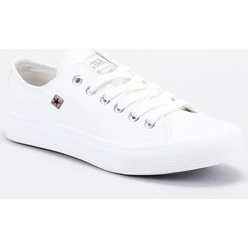 Skor Herr Sneakers Big Star V174347 Vit