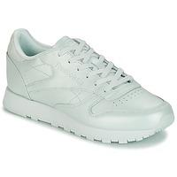 Skor Dam Sneakers Reebok Classic CLASSIC LEATHER Grön