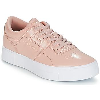 Skor Dam Sneakers Reebok Classic WORKOUT LO FVS Rosa