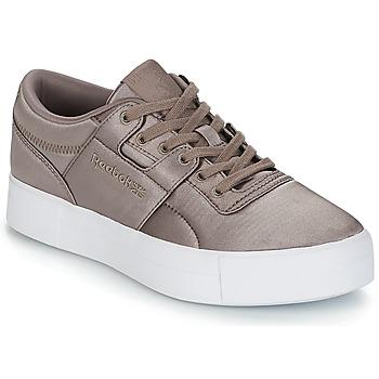 Skor Dam Sneakers Reebok Classic WORKOUT LO FVS TXT Grå