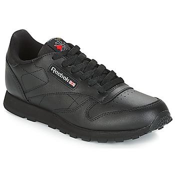 Skor Barn Sneakers Reebok Classic CLASSIC LEATHER J Svart