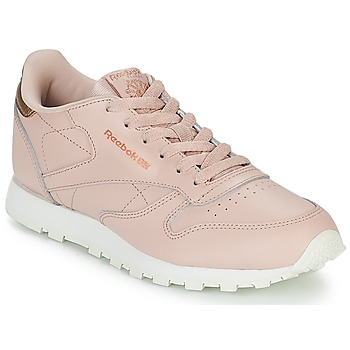 Skor Flickor Sneakers Reebok Classic CLASSIC LEATHER J Rosa