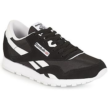Skor Barn Sneakers Reebok Classic CLASSIC NYLON J Svart / Vit