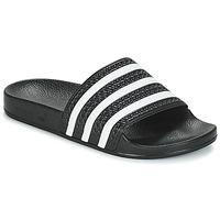Skor Flipflops adidas Originals ADILETTE Svart / Vit