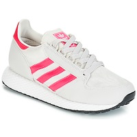 Skor Flick Sneakers adidas Originals OREGON J Vit / Rosa