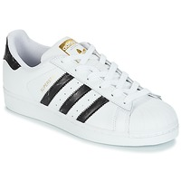 Skor Sneakers adidas Originals SUPERSTAR Vit / Svart