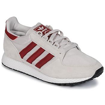Skor Sneakers adidas Originals OREGON Beige / Röd