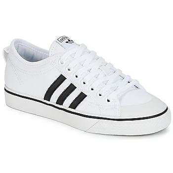 Skor Sneakers adidas Originals NIZZA Vit / Svart