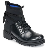 Skor Dam Boots G-Star Raw DELINE SOCK BOOT Svart