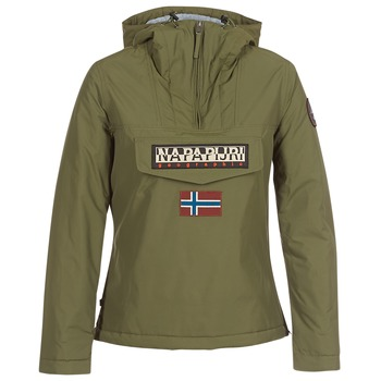 textil Dam Parkas Napapijri RAINFOREST WINTER Kaki