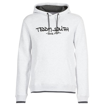 textil Herr Sweatshirts Teddy Smith SICLASS HOODY Grå