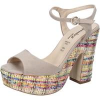 Skor Dam Sandaler Geneve Shoes Sandaler BZ890 Beige