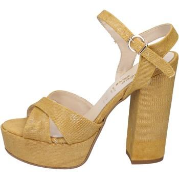 Skor Dam Sandaler Geneve Shoes Sandaler BZ892 Gul