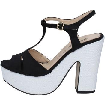 Skor Dam Sandaler Geneve Shoes Sandaler BZ897 Svart