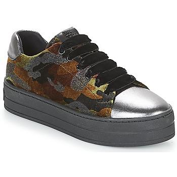 Skor Dam Sneakers Bullboxer TECHA Brun