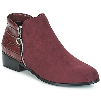 Skor Dam Boots Moony Mood JADE Bordeau