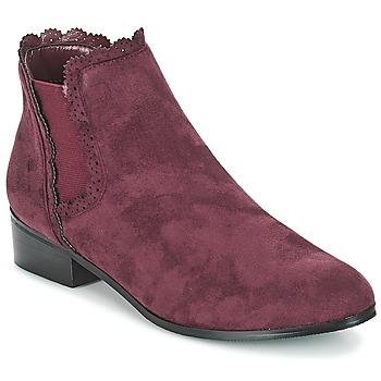 Skor Dam Boots Moony Mood JERMA Aubergine