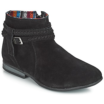 Skor Dam Boots Minnetonka DIXON BOOT Svart