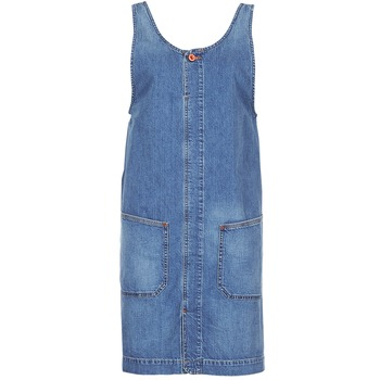 textil Dam Korta klänningar Diesel DE DATY Blå