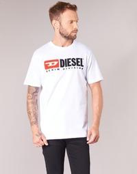 textil Herr T-shirts Diesel T JUST DIVISION Vit