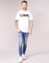 textil Herr Skinny Jeans Diesel SLEENKER Blå