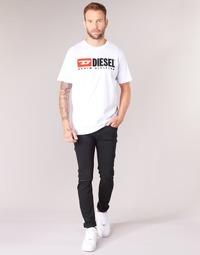 textil Herr Skinny Jeans Diesel SLEENKER Svart