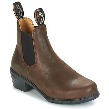 Skor Dam Boots Blundstone WOMEN'S HEEL CHELSEA BOOT 1673 Brun