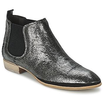 Skor Dam Boots Un Matin d'Ete TOBAGO Svart / Silver